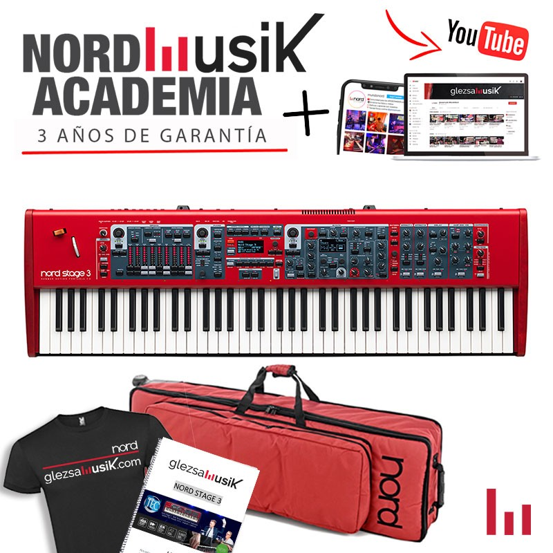 NORD STAGE 3 HP76 + FUNDA NORD
